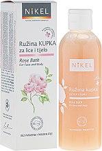 Profumi e cosmetici Schiuma detergente viso e corpo - Nikel Rose Bath