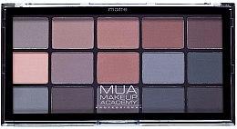 Profumi e cosmetici Palette ombretti - MUA 15 Shade Eyeshadow Palette