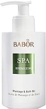 Profumi e cosmetici Olio massaggio - Babor Energizing Massage & Bath Oil