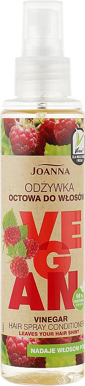 Spray-condizionante per capelli all'aceto di lamponi - Joanna Vegan Vinegar Hair Spray Conditioner