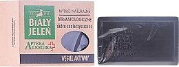 Profumi e cosmetici Sapone dermatologico al carbone attivo - Bialy Jelen Apteka Alergika Soap