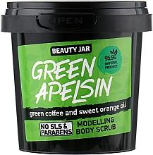 """Profumi e cosmetici Scrub corpo modellante """"Green Apelsin"""" - Beauty Jar Modelling Body Scrub"""