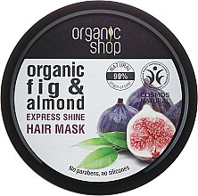 Profumi e cosmetici Maschera per capelli al Fico biologico e Mandorla - Organic Shop Organic Fig Tree and Almond Hair Mask