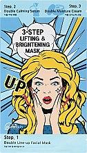 Profumi e cosmetici Maschera viso 3 fasi - Purenskin 3-Step Lifting & Brightening Mask