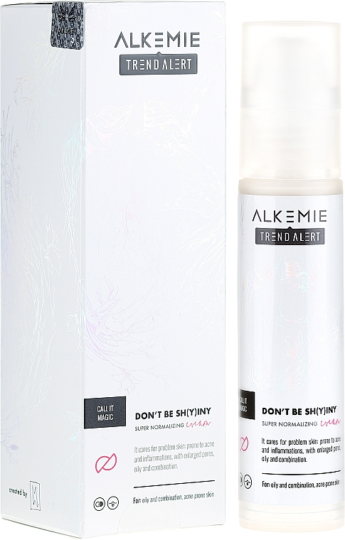 Crema viso normalizzante - Alkemie Call It Magic Don't Be Shying Super Normalizing Cream