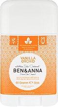 """Profumi e cosmetici Deodorante al bicarbonato """"Vaniglia e Orchidea"""" - Ben & Anna Natural Soda Deodorant Vanilla Orchid"""