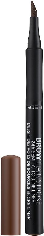 Matita sopracciglia - Gosh Brow Hair Stroke 24H Semi Tatoo Brow Liner