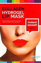 Profumi e cosmetici Maschera labbra in idrogel con collagene - Beauty Face Wrinkle Smooth Effect Collagen Hydrogel Lip Mask