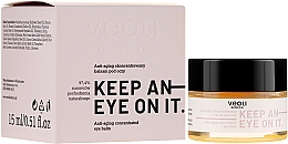 Profumi e cosmetici Balsamo contorno occhi concentrato antietà - Veoli Botanica Anti-aging Concentrated Eye Balm Keep An Eye On It