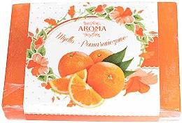 """Profumi e cosmetici Sapone """"Arancione"""" - Delicate Organic Aroma Soap"""