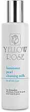 Profumi e cosmetici Latte detergente con estratto di perla - Yellow Rose Luminance Pearl Cleansing Milk