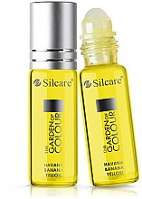 Profumi e cosmetici Olio per unghie e cuticole - Silcare The Garden of Colour Cuticle Oil Roll On Havana Banana Yellow