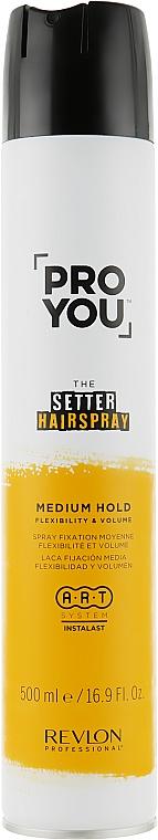 Lacca per capelli, fissazione media - Revlon Professional Pro You The Setter Hairspray Medium