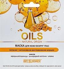 Profumi e cosmetici Maschera contorno occhi - BelKosmex Oils Natural Origin