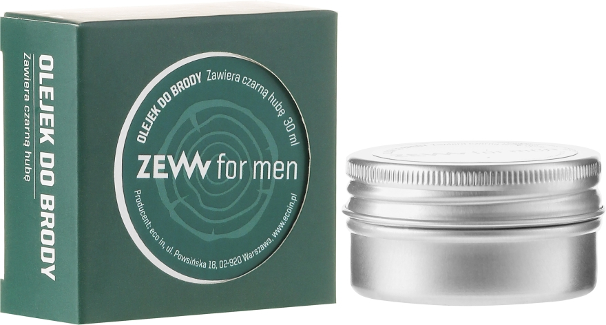 Olio da barba - Zew For Men Beard Oil — foto N1