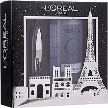 Profumi e cosmetici Set - L'oreal Paris Make-up Set (mascara/8.9ml + mic/water/400ml)