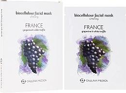 """Profumi e cosmetici Maschera in tessuto """"Francia"""" - Calluna Medica France Whitening Biocellulose Facial Mask"""