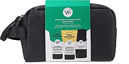 Profumi e cosmetici Set - The Real Shaving Co. Overnight Skin Shave Essentials Gift Set (shave/gel/100ml+face/wash/scrub/100ml+bag+acc)