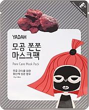 Profumi e cosmetici Maschera viso in tessuto per pori dilatati - Yadah Pore Care Mask Pack