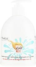 Profumi e cosmetici Shampoo-gel per capelli e corpo per bambini - Sostar Baby Shampoo Shower Gel Enriched With Organic Donkey Milk