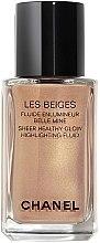 Profumi e cosmetici Fluido-illuminante - Chanel Les Beiges Sheer Healthy Glow Highlighting Fluid