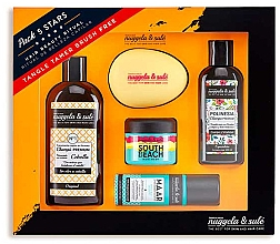 Profumi e cosmetici Set - Nuggela & Sule Set (shm/100ml + shm/250ml + mask/50ml + h/spray/53ml + brush)