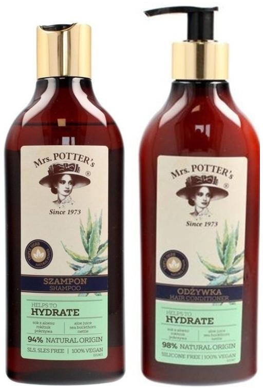 Set - Mrs. Potter's Triple Herb (shm/390ml + cond/390ml)