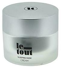 Profumi e cosmetici Crema-maschera viso da notte - Le Tout Sleeping Mask Cream Hydrating Treatment