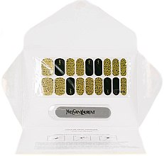 Profumi e cosmetici Adesivi per manicure - Yves Saint Laurent Couture Metal Manicure Jewel Nail Stickers Grunge Sequins