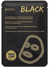 Profumi e cosmetici Maschera viso idratante - Timeless Truth Mask Black Luxurious Gold Moisturising Black Charcoal Mask