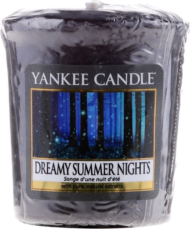 "Candela profumata ""Notti d'estate"" - Yankee Candle Scented Votive Dreamy Summer Nights — foto N1"