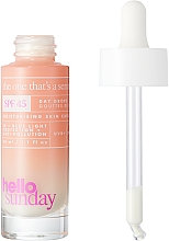 Siero solare viso - Hello Sunday The One That's A Serum Face Drops SPF 45 — foto N2