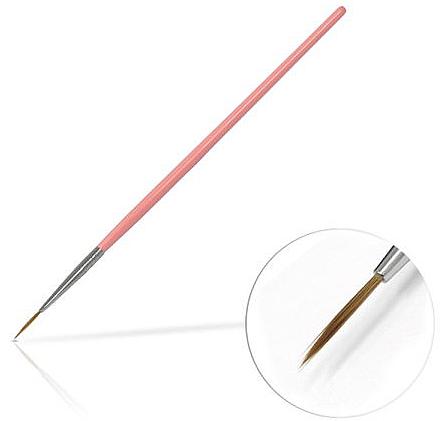 Pennello per gioielli 10 mm Pink - Silcare Brush 02
