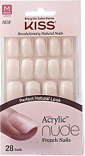 Profumi e cosmetici Set di unghie finte con colla - Kiss Salon Acrylic Nude Nails Cashmere