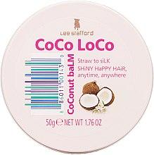 Profumi e cosmetici Balsamo per capelli - Lee Stafford Coco Loco Coconut Balm