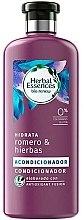 "Profumi e cosmetici Balsamo idratante ""Rosmarino ed erbe"" - Herbal Essences Rosemary & Herbs Conditioner"