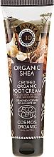 Profumi e cosmetici Crema piedi nutriente - Planeta Organica Organic Shea Foot Cream