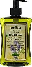 Profumi e cosmetici Sapone liquido al profumo di lavanda - Melica Organic Lavander Liquid Soap