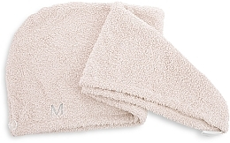 Asciugamano turbante, beige - MakeUp — foto N2