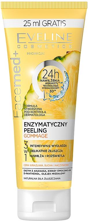 Peeling enzimatico con ananas e acido di frutta - Eveline Cosmetics Facemed+ Enzymatycny Peeling Gommage