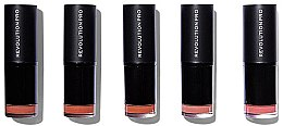 Profumi e cosmetici Set di 5 rossetti labbra - Revolution Pro 5 Lipstick Collection Bare (Bare)