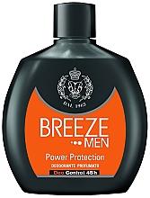 Profumi e cosmetici Deodorante - Breeze Men Power Protection Deo Control 48H