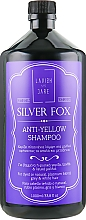 Profumi e cosmetici Shampoo antigiallo per uomo - Lavish Care Silver Fox Anti-Yellow Shampoo