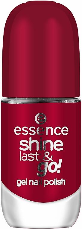 Smalto con effetto gel polish - Essence Shine Last & Go! Gel Nail Polish