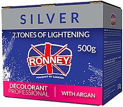 Profumi e cosmetici Polvere decolorante per capelli con olio di Argan - Ronney Dust Free Bleaching Powder With Argan