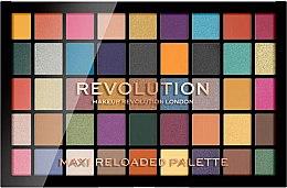 Profumi e cosmetici Palette ombretti, 45 tonalità - Makeup Revolution Maxi Reloaded Palette