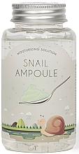 Profumi e cosmetici Gel in fiala alla bava di lumaca - Esfolio Moisturizing Solution Snail Ampoule