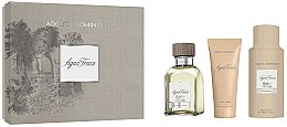 Profumi e cosmetici Adolfo Dominguez Agua Fresca - Set (edt/120ml+aft/shv/75ml+deo/sp/150)