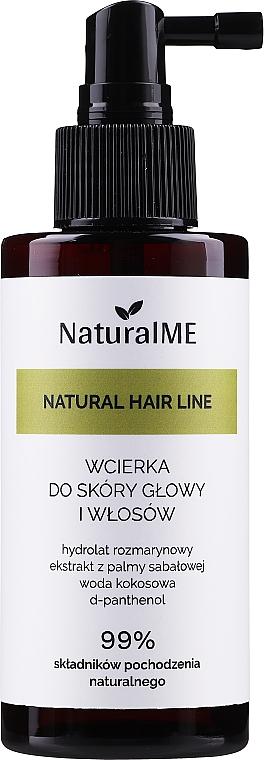 Lozione capelli anticaduta - NaturalME Natural Hair Line Lotion