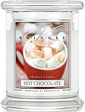 Profumi e cosmetici Candela profumata in vetro - Kringle Candle Hot Chocolate